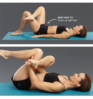 10 stretches to strengthen and tone the whole body... love this piriformis stretch, so good for lower back/sciatica pain.