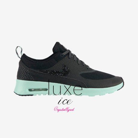 Nike air max Thea shoes with Swarovski crystals!