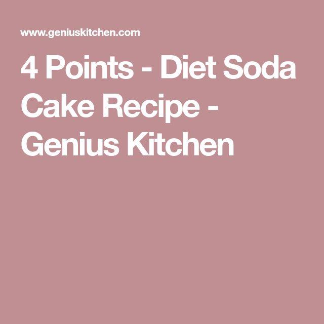 4 Points - Diet Soda Cake Recipe - Genius Kitchen