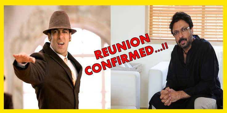 Salman Khan And Sanjay Leela Bhansali Reunited After 10 Years…!!