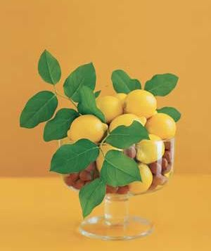 Fruit & nut centerpiece