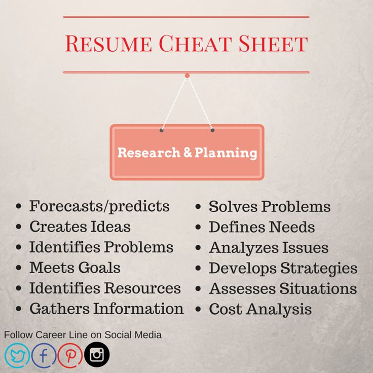 68 best Career Tips images on Pinterest Career, Carrera and Counseling - resume cheat sheet