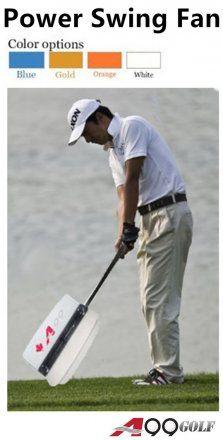 A99 Golf Swing Power Fan S /M /L size Orange/Gold/Blue/White