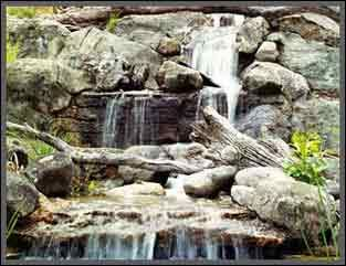 Large Concrete Artificial Rock Natural Looking Waterfall You Can Make This Yourself