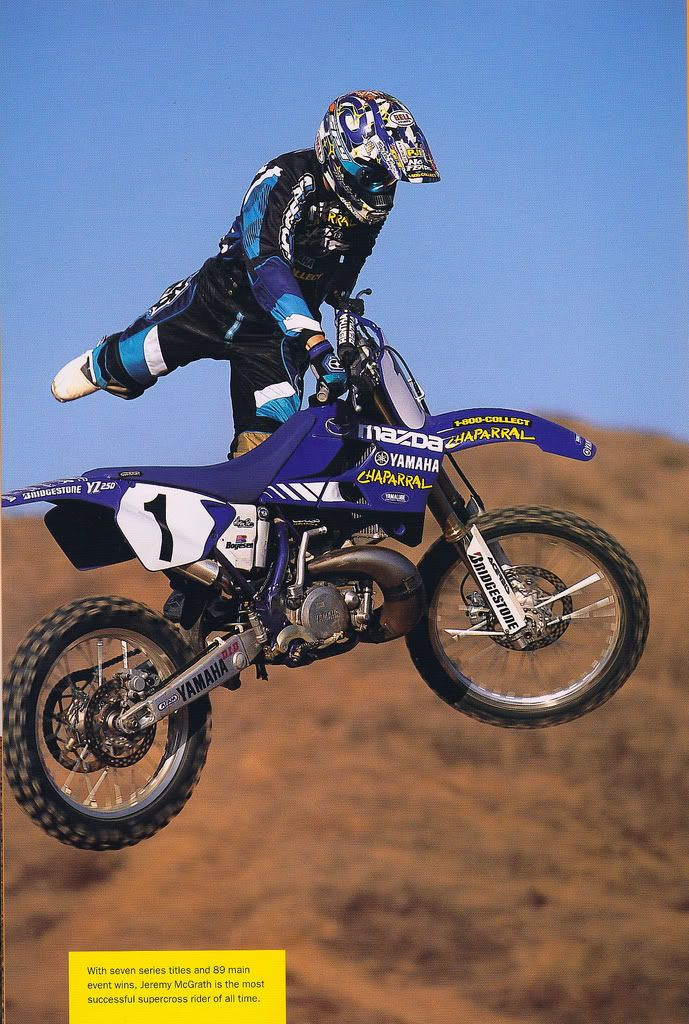 Jeremy McGrath Doing A Nac Nac