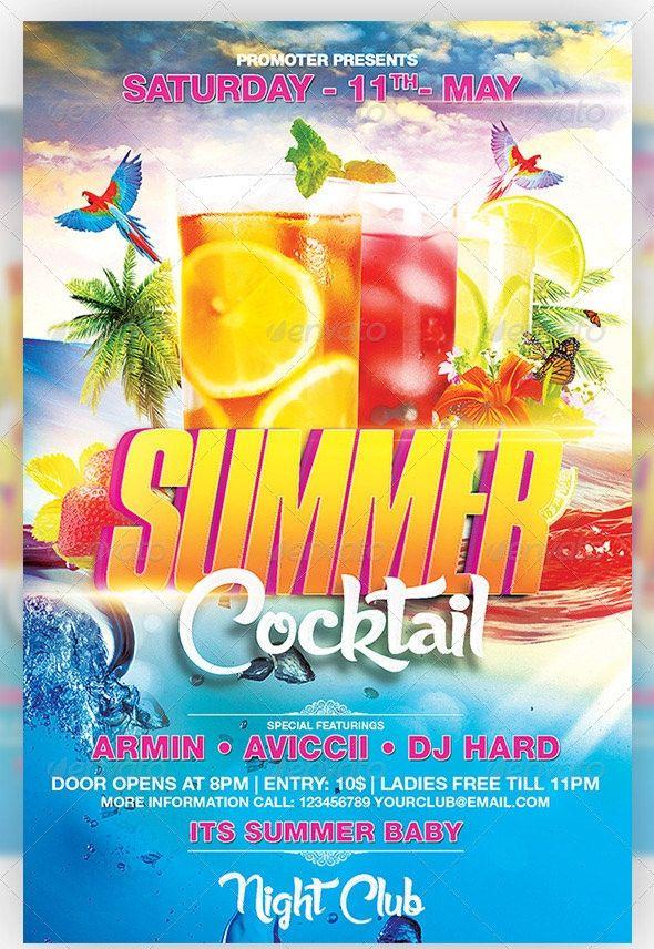 Summer Flyer Templates Free 48 Summer Party Flyer Templates Psd