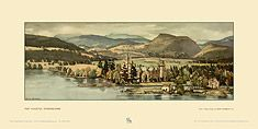 Fort Augustus by Sir Henry George Rushbury