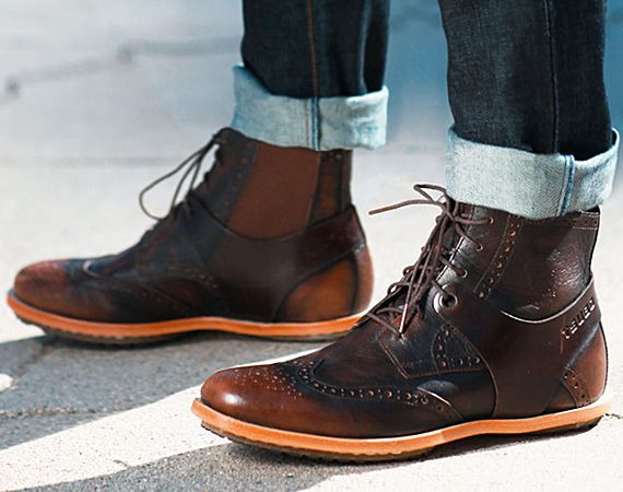 I would love #wingtip boots! That'd be a great addition to my boot collection! #inspiration @FOLK Magazine