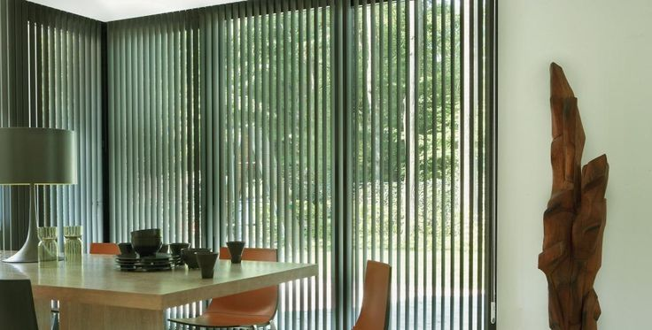 PPI Solutions offer vertical blinds in many different styles, colours, and textures that will go well in virtually any décor. Wonderful for tall and wide windows and sliding doors, vertical blinds are versatile in both their  style and functionality.