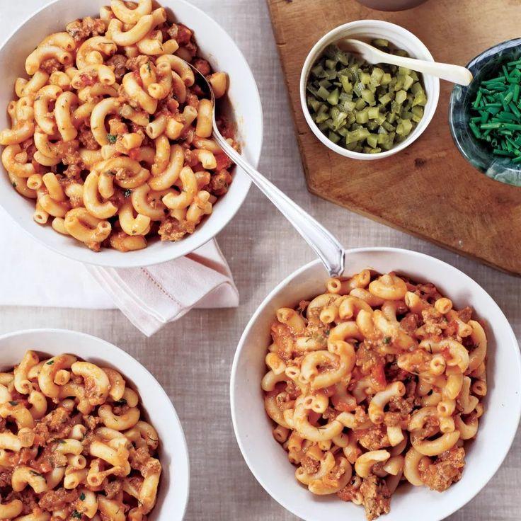 Ground Meat Goulash with Macaroni