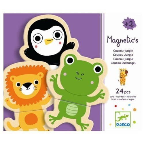 Djeco / Wooden Magnet Play Set, Hello Animals (24 pc) by Hotaling Imports, http://www.amazon.com/dp/B001G8YZ0G/ref=cm_sw_r_pi_dp_AAgTqb1K0P972
