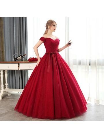 Srdíčko Princesové Šněrování Plesové šaty levný