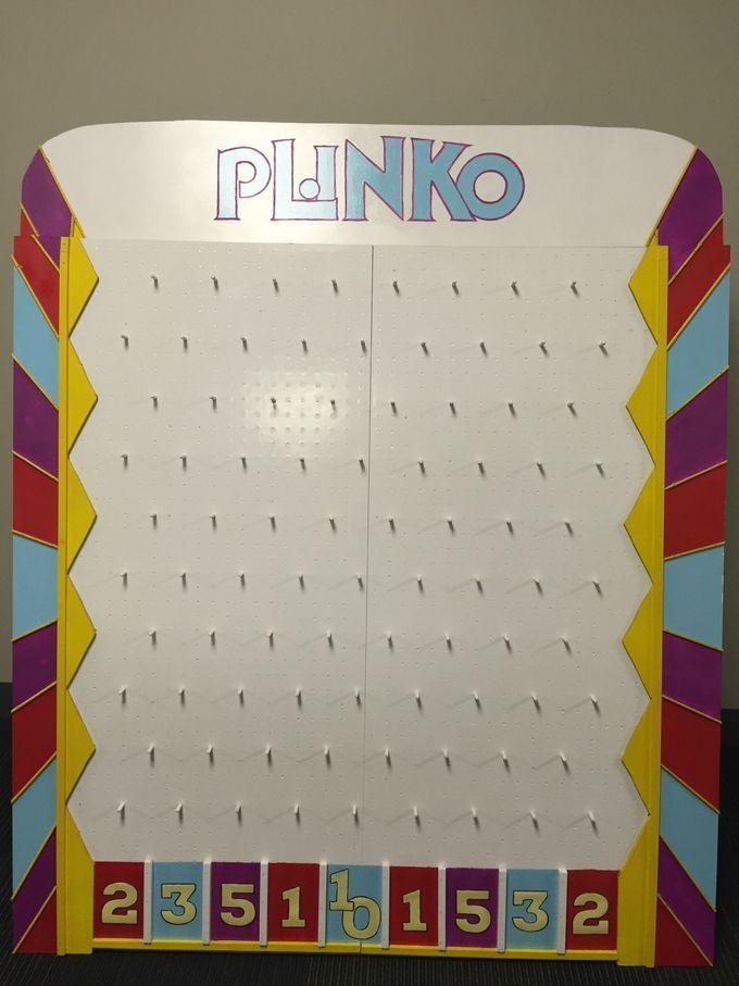 Diy Plinko Board Plinko Board Price Is Right Games Price