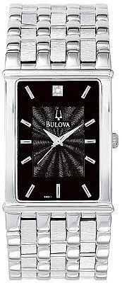 Bulova Men's Diamond Watch 96D11