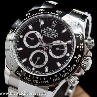 Rolex Daytona 116500LN (2016) - prix et caractéristiques de cette nouveauté Baselworld - The Watch Observer