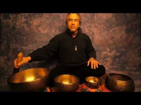 Meditation/Root Chakra with Tibetan Singing Bowls - YouTube