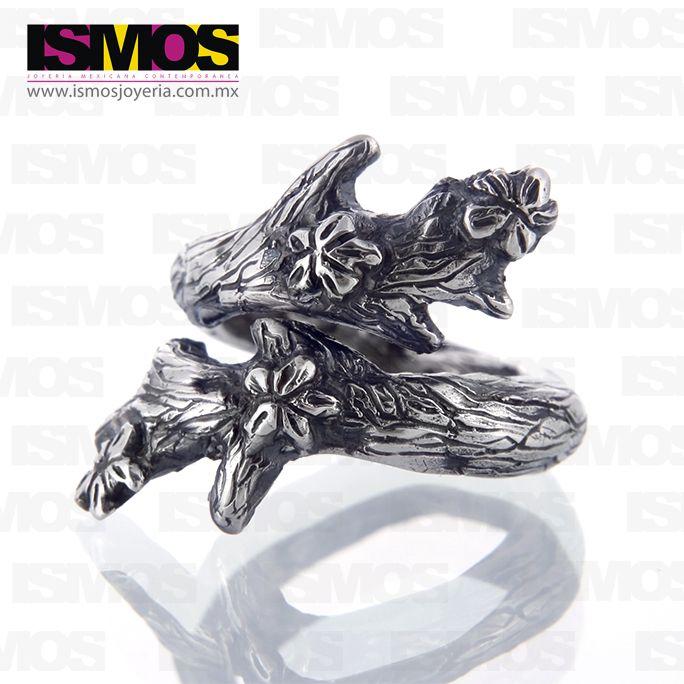 ISMOS Joyería: anillo árbol de plata // ISMOS Jewellery: tree silver ring