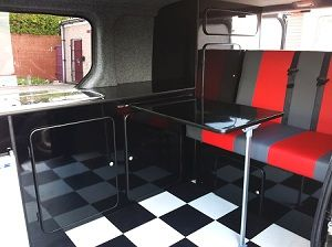 Convert Your Van Ltd - VW Caravelle Camper Conversion and Furniture Kits