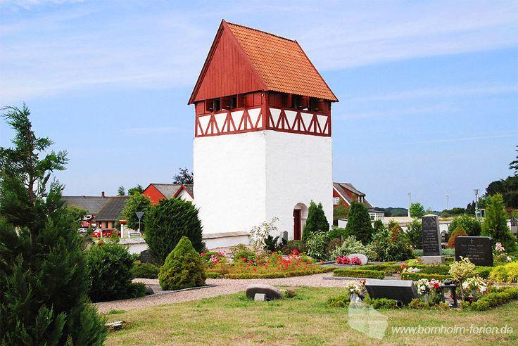 Bodil Kirke, Bodilsker, Insel Bornholm