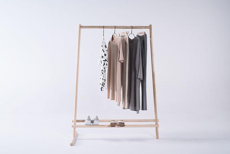Dashes: cloth rack - marta morawska-omalecka