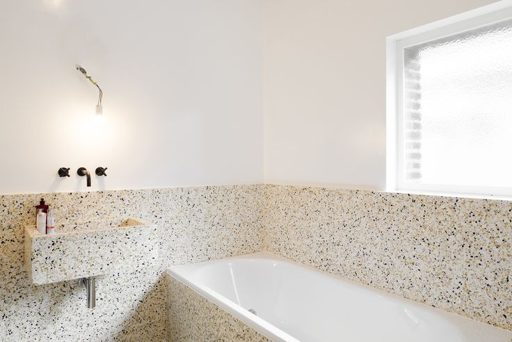 Made Architects   renovation of a modernist house built around 1935 by architect Kaplansky, Location: Duerne, Photo: Olmo Peeters #terrazzo