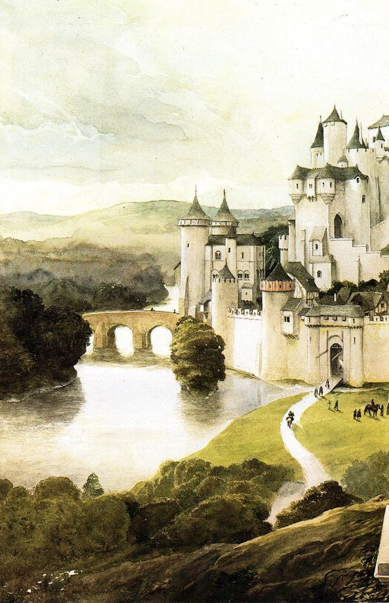 Camelot by Alan Lee