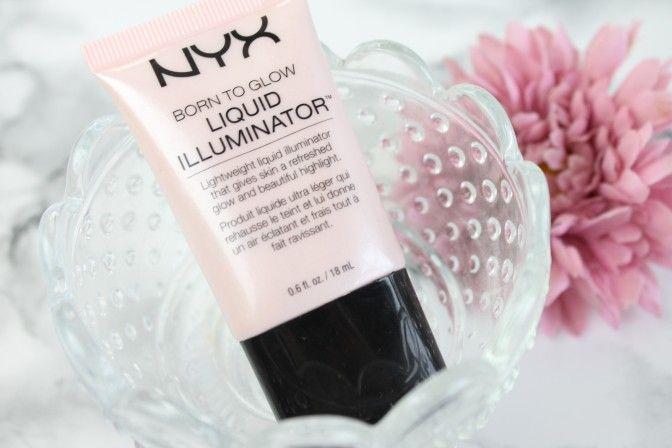 Nyx Highlighter Born to Glow - Alle Highlighter für helle Haut findest du mit Swatches nach dem Klick auf meinen Blog