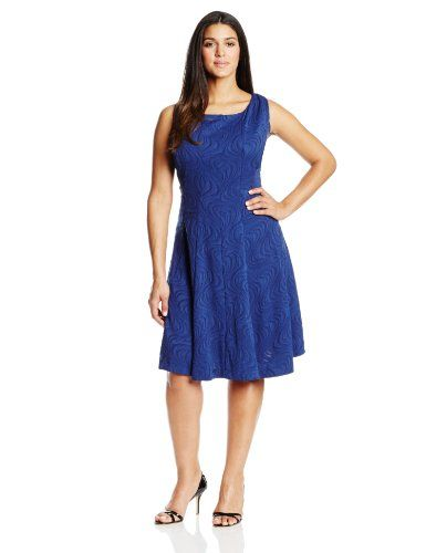 Julian Taylor Womens Plus-Size Sleeveless Jacquard Fit and Flare Dress, Navy, 18 Julian Taylor,http://www.amazon.com/dp/B00GD8S3PM/ref=cm_sw_r_pi_dp_PW7etb1D2SFP9WTC Clothing, Shoes & Jewelry : Women : Clothing : Dresses : big sizes http://amzn.to/2luZtGE