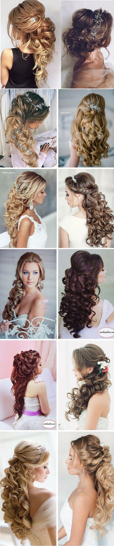 Ślubne fryzury na rok 2016...Każda ma coś w sobie!