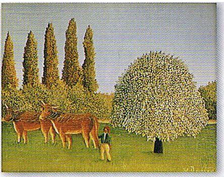 ルソー/アンリ ルソー 牧場