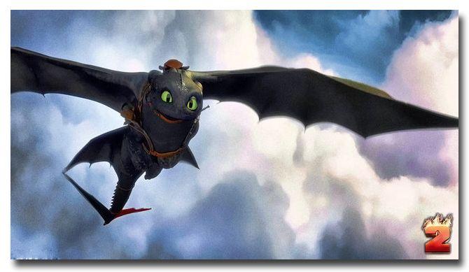 Как Приручить Дракона 2 Фильм Искусство Шелковый Плакат 13x24 24x43 икота Беззубый Картинки Для Спальни Гостиная Декор 038