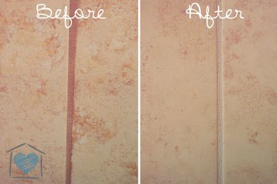 Change Your Grout Color - Using a grout stain we were able to update the red-ish grout in our shower Staining tile grout Need: Tile grout stain (I found a…