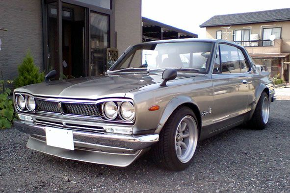 1967 Nissan Skyline GT-R. Sharp...think this'll be my daily driver after the Powerball hits.