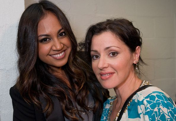 Jessica Mauboy Photos Photos - Jessica Mauboy and Tina Arena backstage at the Channel Nine And Daily Telegraph telethon appeal for Queensland flood victims on January 9, 2011 in Brisbane, Australia. The Queensland flood crisis has resulted in ten deaths and affected more than 200,000 people across an area as large as France and Germany combined. The flood bill is predicted to be several billion dollars. - Celebrities Telethon To Support Flood Victims