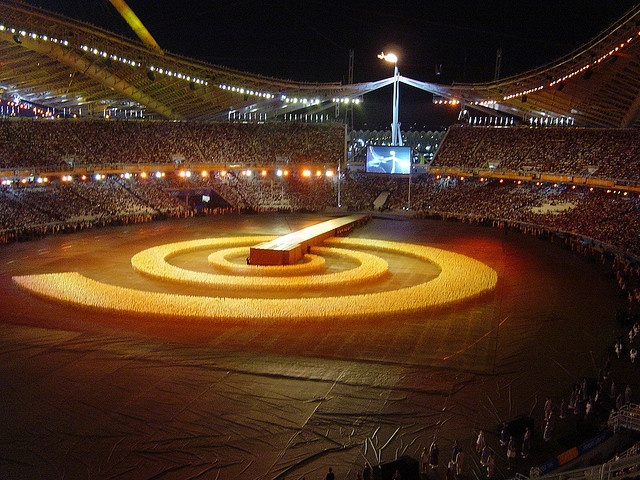 Closing Ceremony - Wheat Fields, Athens 2004 by CaptSkyRocket, via Flickr