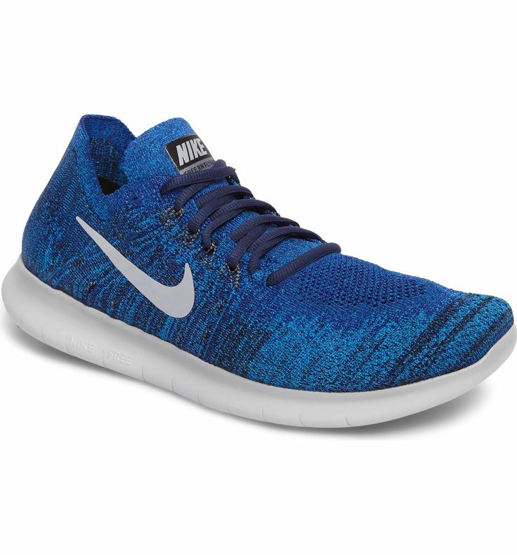 Main Image - Nike Free Run Flyknit 2017 Running Shoe (Men)