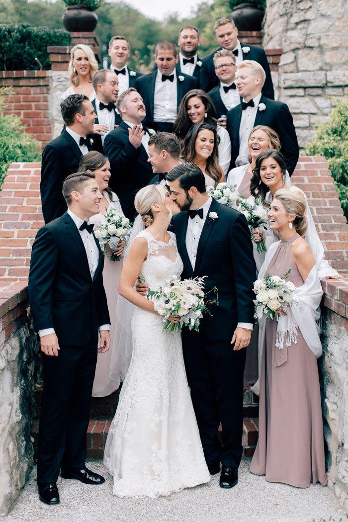 Best 25 black tie bridesmaids ideas on pinterest black tie melissaandericsclassicweddinginsaintlouis junglespirit Image collections