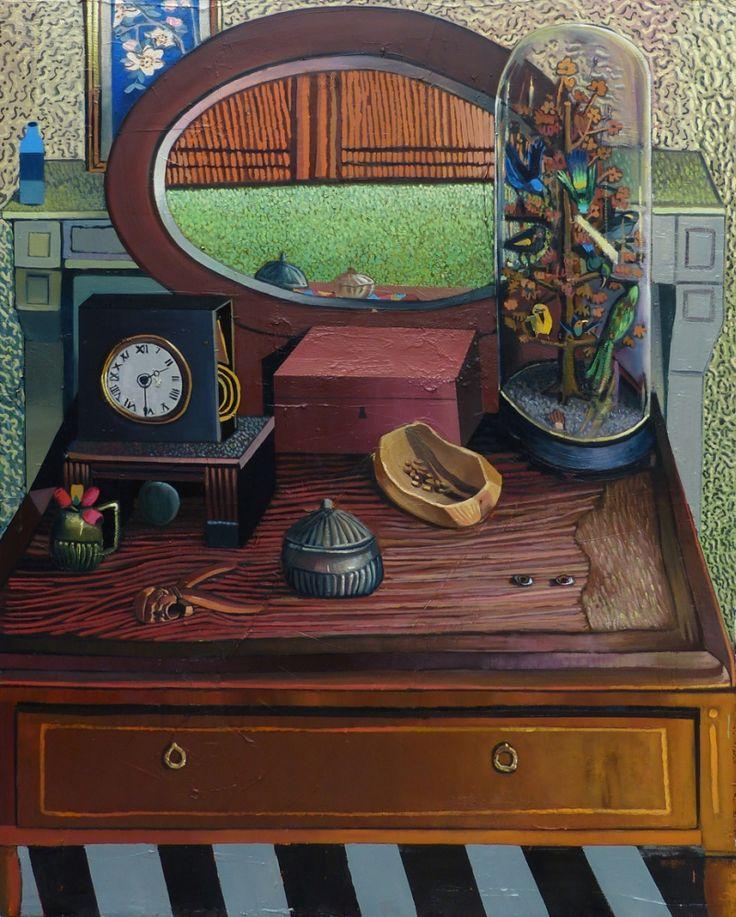 Mathieu Cherkit Bird box, 2014 Huile sur toile 162 x 130 cm Oil on canvas 6325⁄32 x 513⁄16in