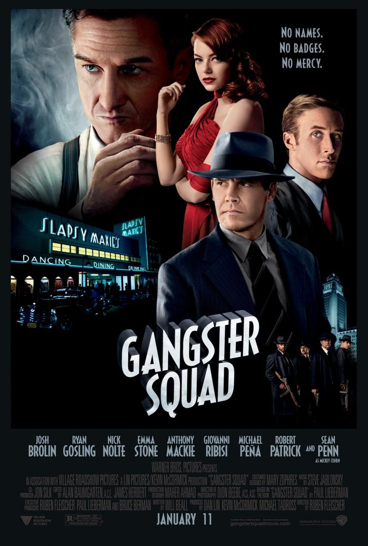 (32%) Though it's stylish and features a talented cast, Gangster Squad suffers from lackluster writing, underdeveloped characters, and an excessive amount of violence.
