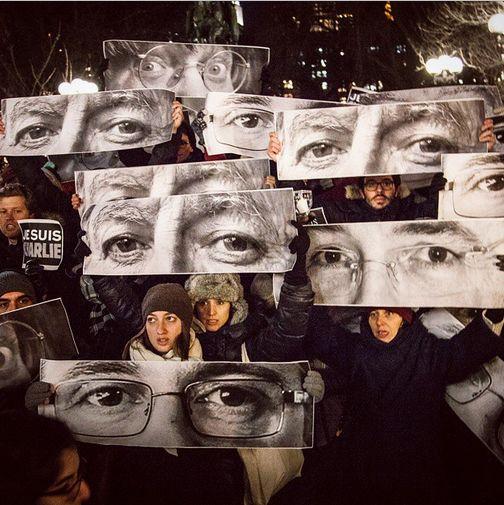 #JR #JeSuisCharlie