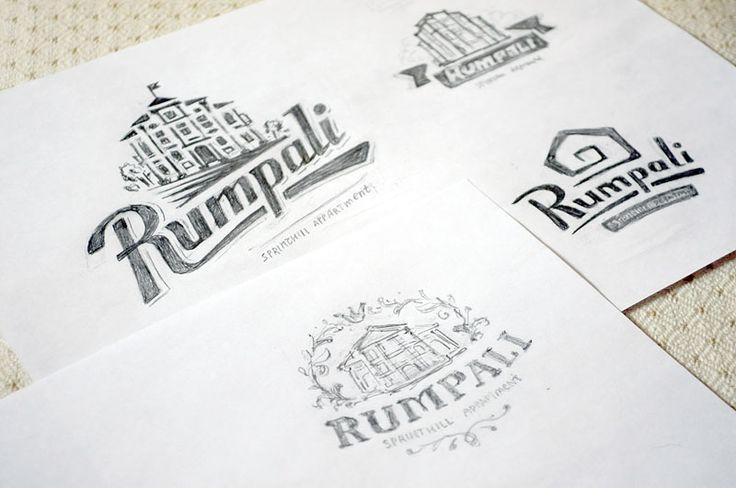Эскизы логотипов