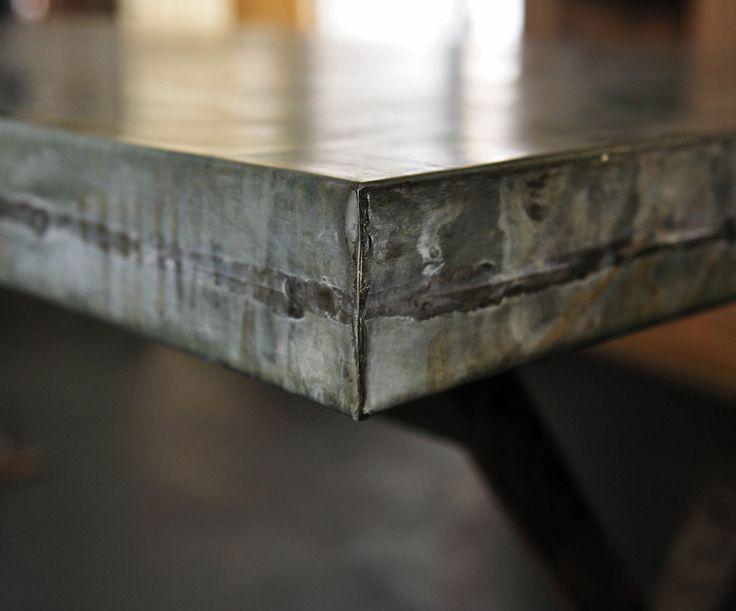 Tavolo in zinco su misura. BBKDESIGN