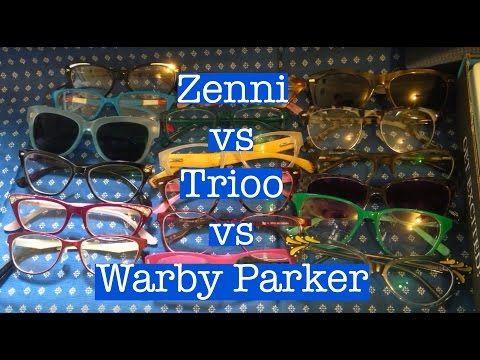Zenni Optical vs Warby Parker vs Trioo Eyewear | Trioo
