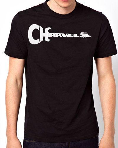 iOffer: New T-Shirt charvel Guitars Logo Men Short Sleeve for sale