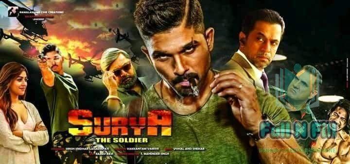 Watch Surya The Brave Soldier Naa Peru Surya 2018 Hindi Dubbed