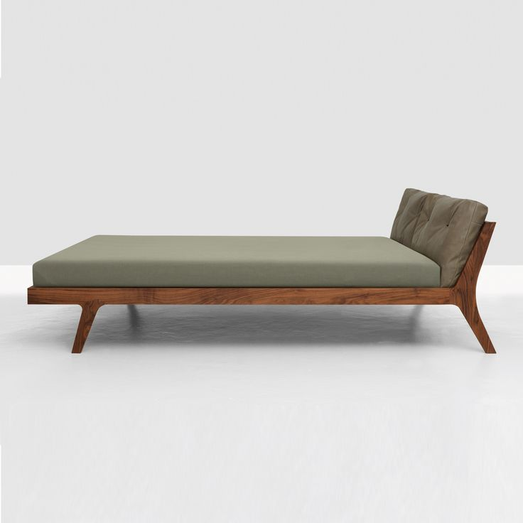 Shop SUITE NY for the Mellow bed designed by Formstelle for Zeitraum and more contemporary furniture from Europe, ecofriendly furniture, solid wood beds and gre
