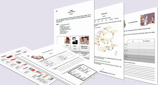 Free Printable Worksheets to learn to speak French. Exercises to practice oral communication skills