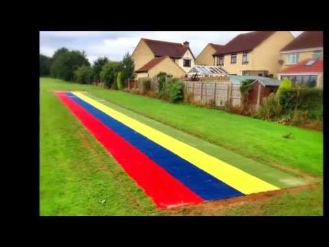 ▶ Artificial Turf Long Jump Runway - YouTube