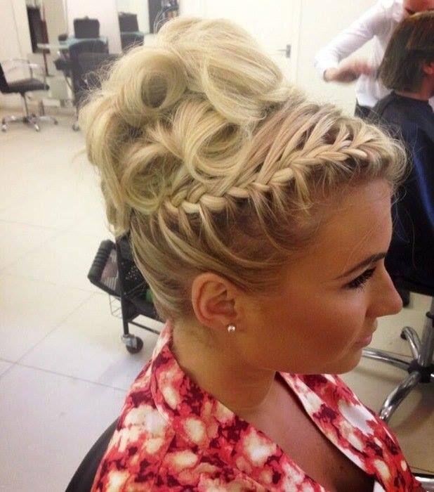 Stupendous Love The Side Braid Lenske39S Hair For Matchdance Hairstyles Short Hairstyles For Black Women Fulllsitofus