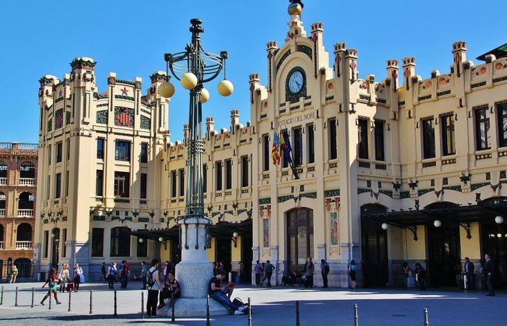 La Estación del Norte de Valencia es un buen ejemplo del modernismo valenciano